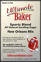 Ultimate Baker Sportz Blend Sanding Sugar New Orleans Mix (1x1lb)