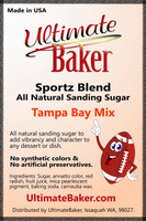 Ultimate Baker Sportz Blend Sanding Sugar Tampa Bay Mix (1x1lb)