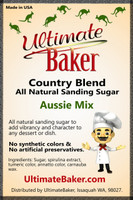 Ultimate Baker Country Blend Sanding Sugar Aussie Mix (1x8lb)