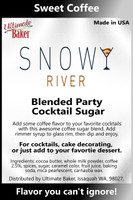 Snowy River Cocktail Sugar Sweet Coffee (1x5lb)
