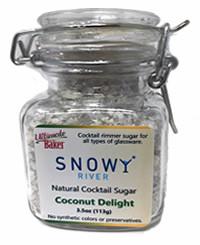Snowy River Cocktail Sugar Coconut Delight (1x3.5oz)