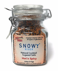 Snowy River Cocktail Sugared Salts Hot'n Spicy Mix (1x3.5oz)