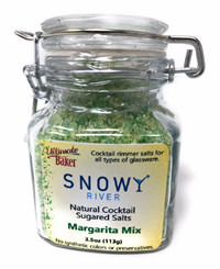 Snowy River Cocktail Sugared Salts Margarita Mix (1x3.5oz)