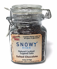 Snowy River Cocktail Sugared Salts Salted Chocolate (1x3.5oz)