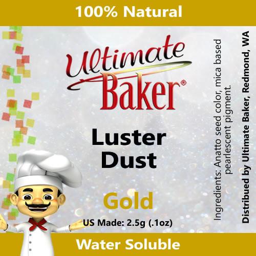 Ultimate Baker Luster Dust Gold (1x2.5g)