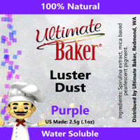 Ultimate Baker Luster Dust Purple (1x2.5g)