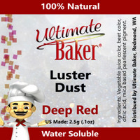 Ultimate Baker Luster Dust Deep Red (1x2.5g)
