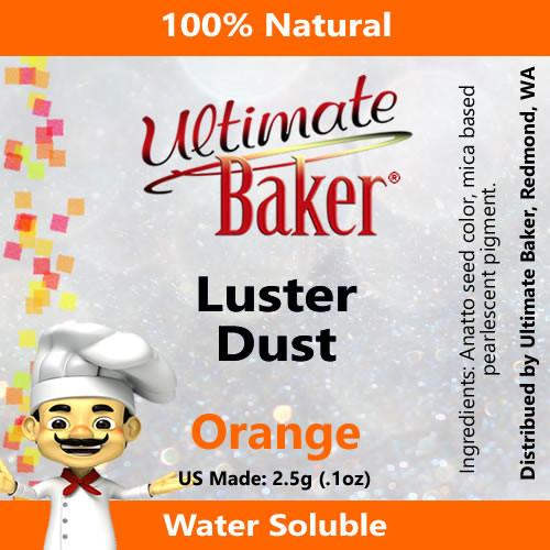 Ultimate Baker Luster Dust Orange (1x2.5g)