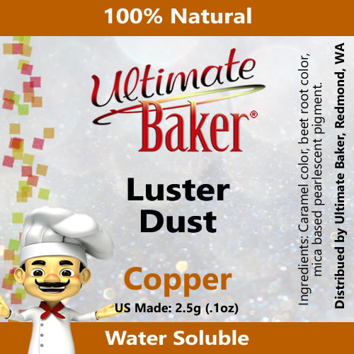Ultimate Baker Luster Dust Copper (1x2.5g)