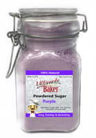 Ultimate Baker Natural Powdered Sugar Purple (1x5oz Glass)
