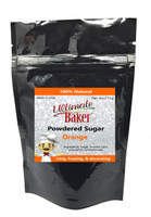 Ultimate Baker Natural Powdered Sugar Orange (1x4oz Bag)
