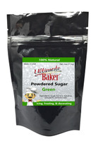 Ultimate Baker Natural Powdered Sugar Green (1x4oz Bag)