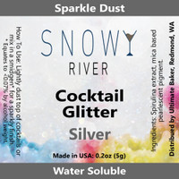 Snowy River Cocktail Glitter Silver (1x5.0g)