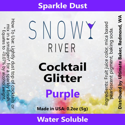 Snowy River Cocktail Glitter Purple (1x5.0g)
