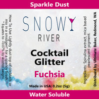 Snowy River Cocktail Glitter Fuchsia (1x5.0g)