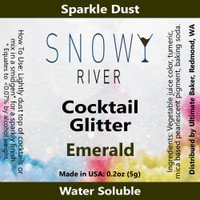 Snowy River Cocktail Glitter Emerald (1x5.0g)