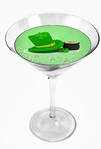 Snowy River Cocktail Toppers St.Paddy's (1x6Pack)