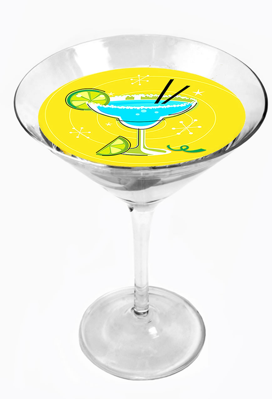 Snowy River Cocktail Toppers Lemon Drop (1x6Pack)