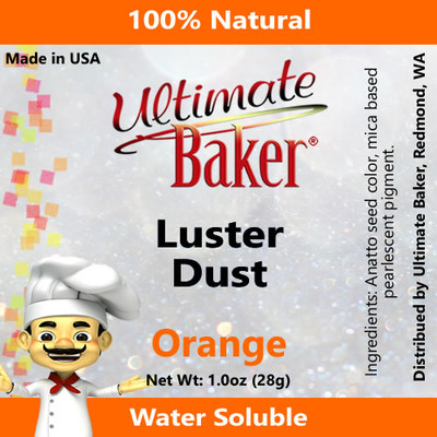Ultimate Baker Luster Dust Orange (1x28g)