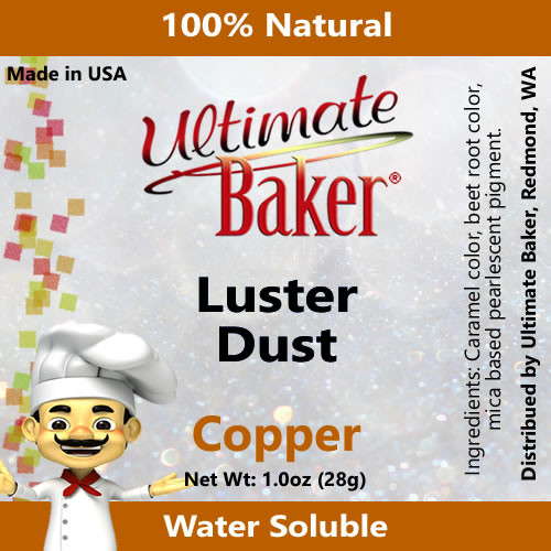 Ultimate Baker Luster Dust Copper (1x28g)