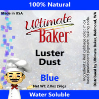 Ultimate Baker Luster Dust Blue (1x56g)