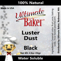 Ultimate Baker Luster Dust Black Pearl (1x56g)