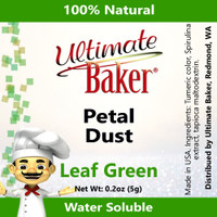 Ultimate Baker Petal Dust Leaf Green (1x5.0g)
