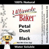 Ultimate Baker Petal Dust Black (1x5.0g)