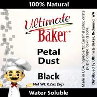 Ultimate Baker Petal Dust Black (1x5.0g)