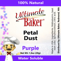 Ultimate Baker Petal Dust Purple (1x28g)