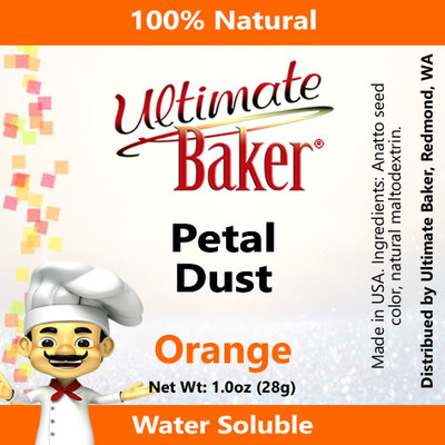 Ultimate Baker Petal Dust Orange (1x28g)