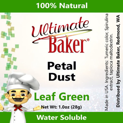 Ultimate Baker Petal Dust Leaf Green (1x28g)