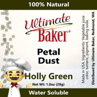 Ultimate Baker Petal Dust Holly Green (1x28g)