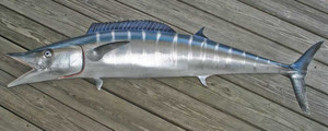 Wahoo 71L inch Full Mount Fiberglass Fish Replica