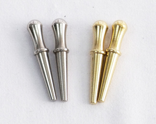 Cribbage Pegs Silver & Gold