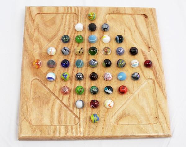Diamond Marble Solitaire - Coffeenut