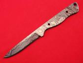 Alabama Damascus Knife Blank / ADS0071-DKB