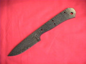 Alabama Damascus Knife Blank / ADS0020-DKB