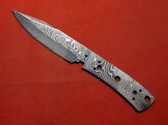Alabama Damascus Knife Blank / ADS0089-DKB