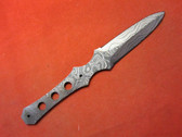 Alabama Damascus Knife Blank / ADS0096-DKB