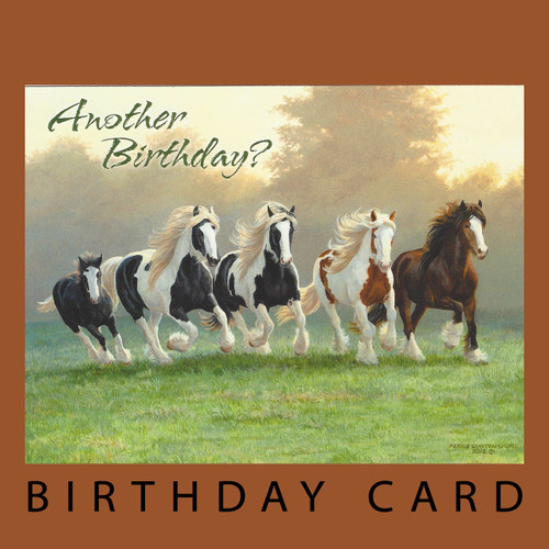 Horses Horse Cards Everyday Cards Page 1 Horse Play – Leanin Tree Birthday Cards