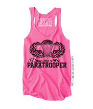 I Love My Paratrooper Top