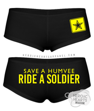 Save A Humvee Army Boy Shorts