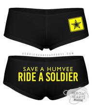 Save A Humvee Army Boy Shorts
