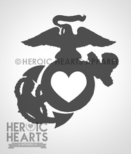 EGA Heart Decal