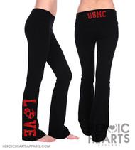USMC Love Yoga Pants