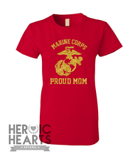 Proud USMC [Mom] Shirt
