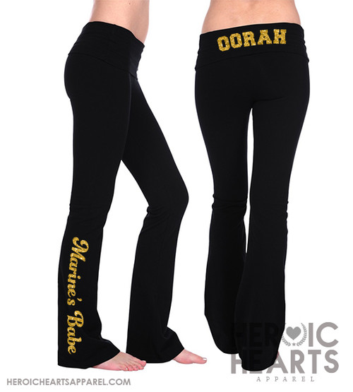 Oorah Marine's Babe Yoga Pants