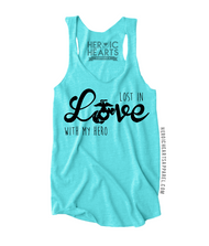 Lost In Love With My Hero Shirt - USMC