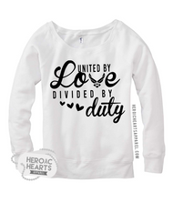 United by Love Divided By Duty Shirt - Air Force